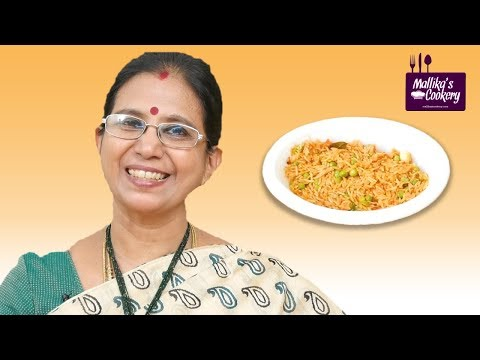 Tomato Cheese Pulao : Mallika Badrinath Recipe | Indian Style Lunch Recipe