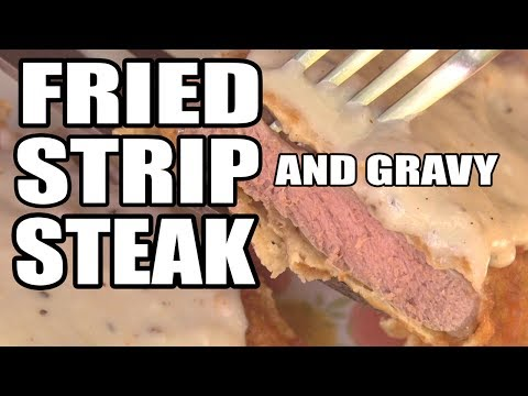 Fried Steak and Country Gravy by the BBQ Pit Boys
