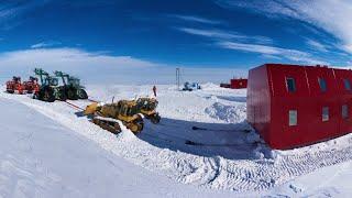 Garage & Drewery Building Move - Halley VI, Antarctica