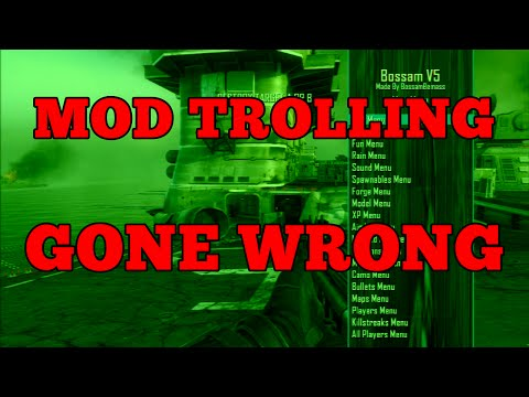 FUNNY MOD TROLLING (Gone Wrong)