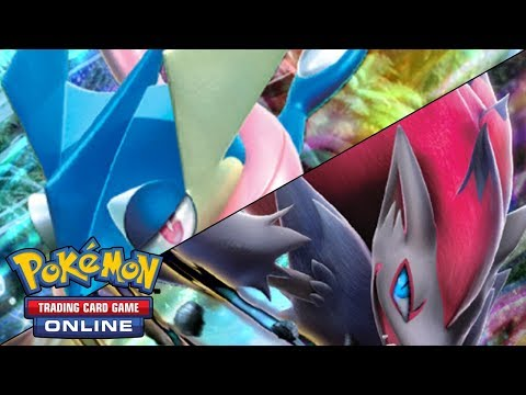 Pokémon TCG Online: Mazo Zoroark-GX/Greninja-GX [BKT-FLI]