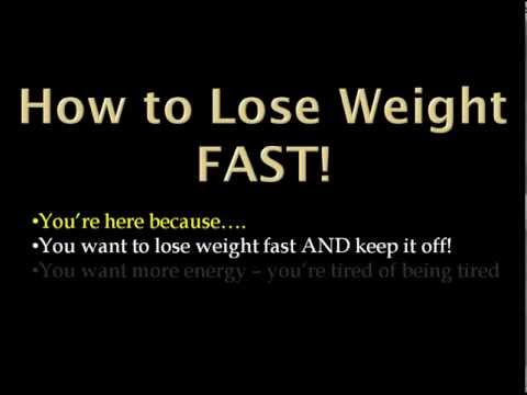 How to Lose Weight Fast | Lose 7 Pounds in 7 Days