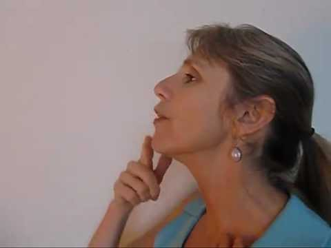 Facial Exercises for Neck and Chin - A Tight Neck and Toned Chin!