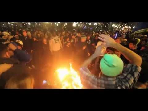 Seattle Seahawks 12th Man Super Bowl Celebration by (Richie Acevedo