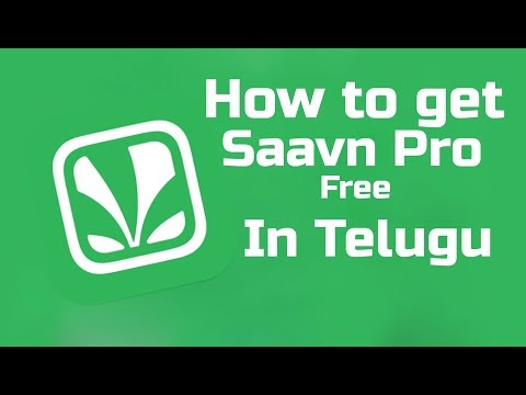 How To Get Saavn Pro For free || unlimited downloads || without ads || in TELUGU.