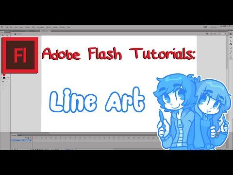Flash Tutorial - Line Art