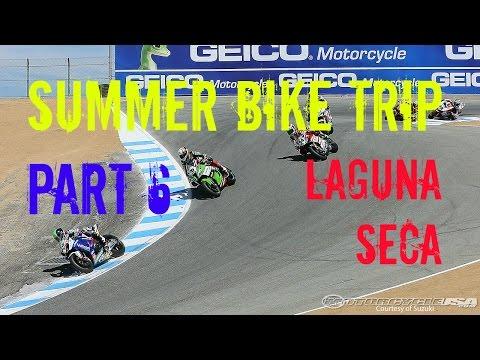 Riding Laguna Seca and a Bike Drop - Summer Bike Trip Part 6