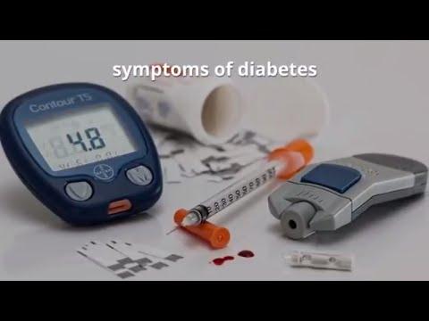 Symptoms of Diabetes: Warning Signs of Type 1 and Type 2 Diabetes Mellitus