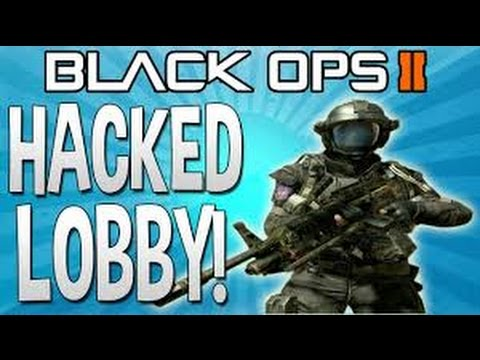 Hacked lobby fun!!! Call of Duty Black ops 2