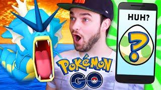 Pokemon GO Gameplay - EGG HATCHING & GYARADOS HUNT!