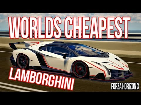 SELLING EXPENSIVE CARS FOR CHEAP IN FORZA HORIZON 3