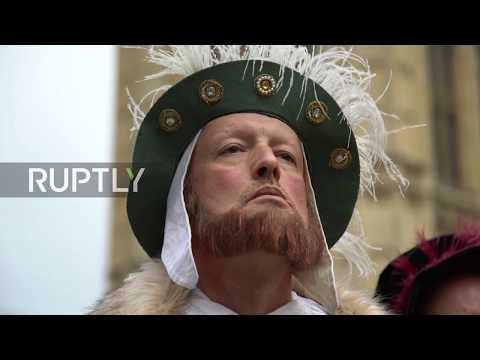 UK: EU divorced, democracy beheaded, legislation survived? Henry VIII protests withdrawal bill
