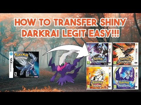 How to Transfer Shiny Darkrai to PokeBank! | How to Get Shiny Darkrai LEGIT Part 2