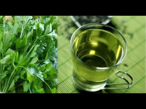 PARSLEY TEA – REMEDY FOR ANEMIA, URINARY INFECTION, KIDNEY STONES