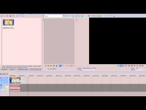 How to Fade in and out of a video in Sony Vegas Fade Transition