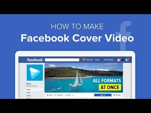 How to Make Facebook Video Cover Image in Wave.video