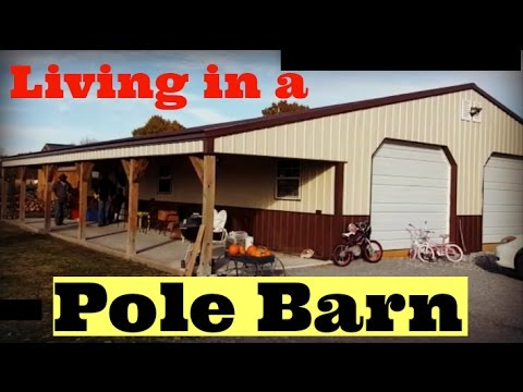 Family of Five Lives in a Pole Barn