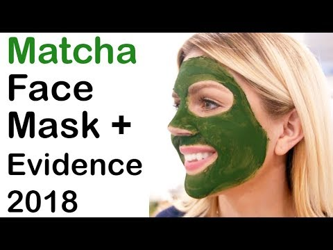 DIY Simple Matcha Face Mask + 2018 Scientific Evidence