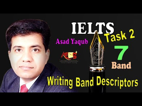 How to Get 7 Bands in IELTS Writing Task 2 Essay Writing || Band Descriptors || Asad Yaqub