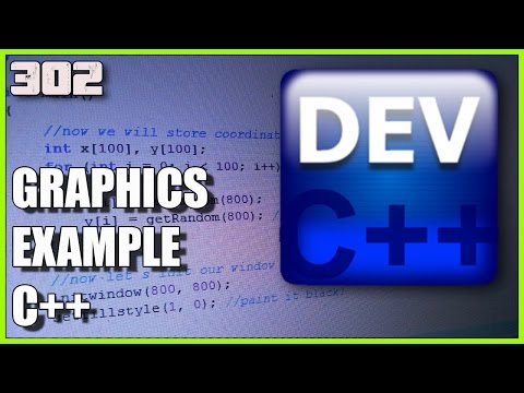 Learn C++ Working with graphics example