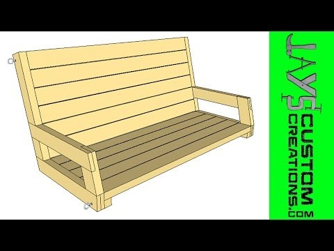 SketchUp - 2x4 Porch Swing - 095