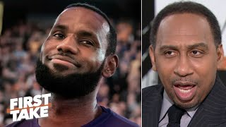 'I don't want any excuses!' - Stephen A. wants LeBron to decide whether he load manages | First Take