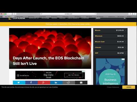 EOS Mainnet launch Update | $EOS Classic Airdrop | EOS Core EOS Canada | Hoolion Coin Airdrop
