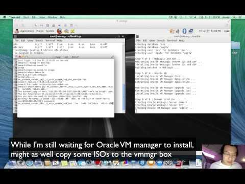 Oracle VM 3.3.1 Beta Nested VM VMWare Installation in under 45 minutes