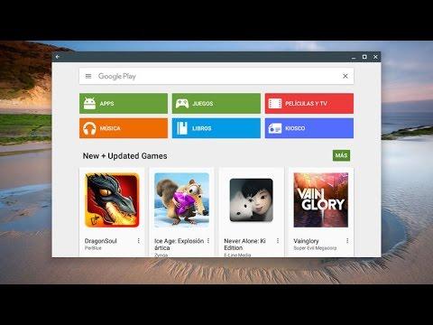 Cómo instalar apps de Android en una computadora con Chrome OS [video]