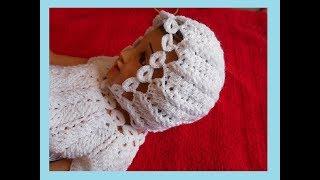 Zapatos Para Niño Dios A Crochet Con Punto Trigo O Espiga Y