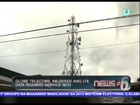 Globe telecoms, inilunsad ang LTE date roaming service