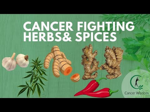 8 Cancer Fighting Herbs & Spices You Should Eat More Of