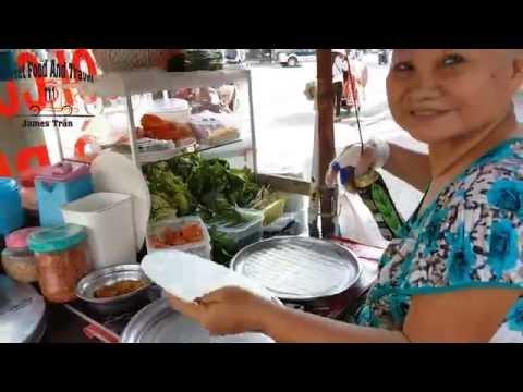 Street Food in VietNam - Vietnamese Spring Roll - Goi Cuon