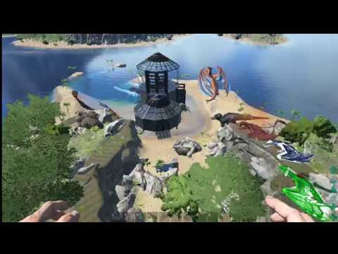 How to Build Treehouse with no Tree, Platform +, Structures +  Ark Survival Evolved