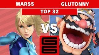 Genesis 6 - Marss (Zero Suit Samus) Vs. SA | Glutonny (Wario) Top 32 - Smash Ultimate