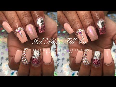 Gel Nails Fill In | Watch Me Work