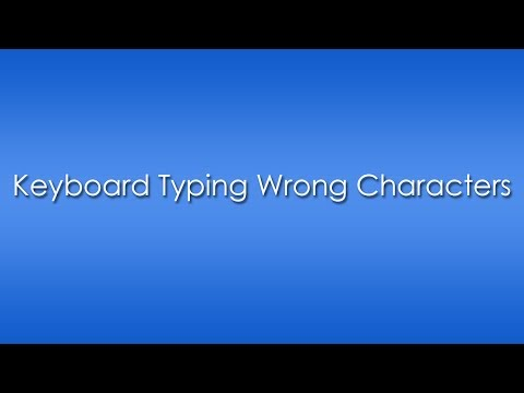 Keyboard Typing Wrong Characters after Windows Installation [Solved]