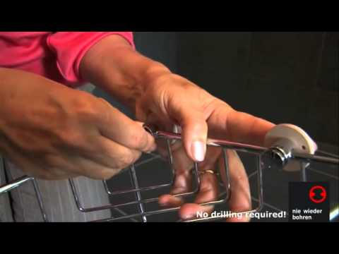 no drilling required Shower Caddy Installation For Tile - How to install