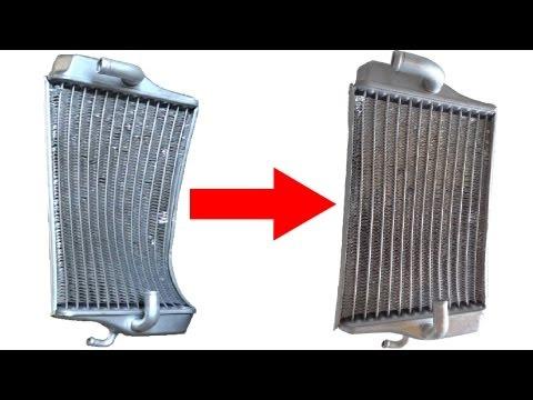Very Simple Way To Repair Bent Radiator