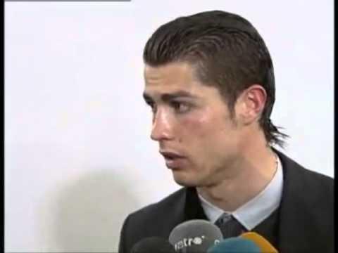 Slicked Back Hair - Cristiano Ronaldo