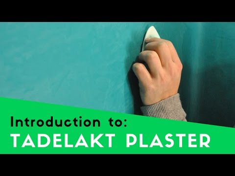 INTRODUCTION TO TADELAKT - WATERPROOF LIME FINISH