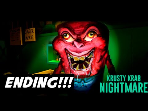 RIP SA NAKA HEADPHONE | Krusty Krab Nightmare HORROR GAME | Jay Jayz PH | Filipino