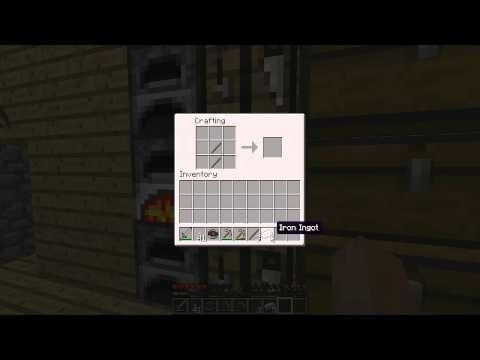 Minecraft: How To Make Iron Pickaxe