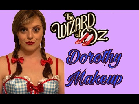 Dorothy From Wizard of Oz Costume and Makeup Tutorial | Rylene Hindley
