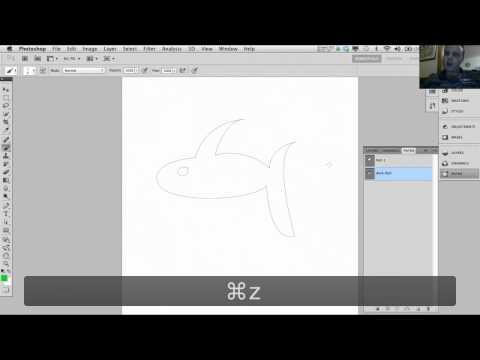 Path and Pen tool in Adobe Photoshop - Tutorial 7 of 7
