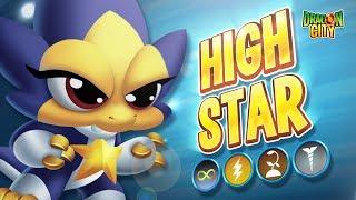 The High Star Dragon - Heroic Race: Summer - Dragon City