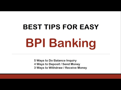 Best Tips for Easy BPI Banking