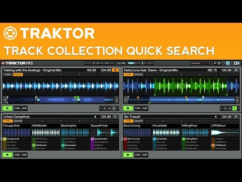 How to Search Your Track Collection Quickly in Traktor Pro 2