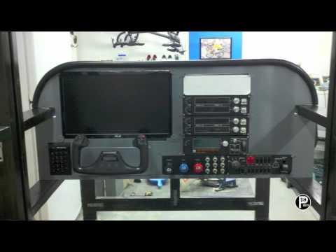 Homebuilt Cessna 172 Flight Simulator Cockpit Construction Video FSX