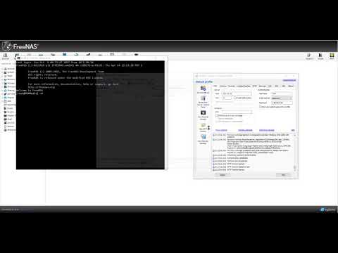 How to assign static ip freenas -